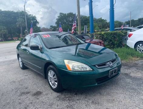 2003 Honda Accord for sale at AUTO PROVIDER in Fort Lauderdale FL