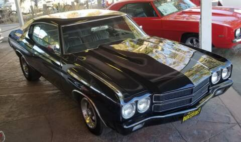 1970 Chevrolet Chevelle Malibu for sale at Vehicle Liquidation in Littlerock CA