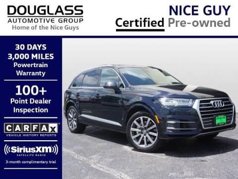 2017 Audi Q7 for sale at Douglass Automotive Group - Waco Mitsubishi in Waco TX