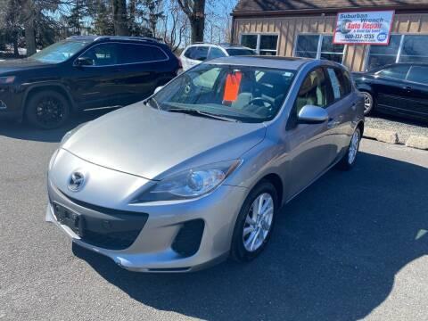 2012 Mazda MAZDA3 for sale at Suburban Wrench in Pennington NJ