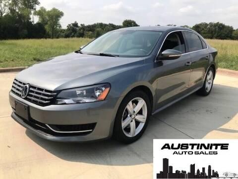 2012 Volkswagen Passat for sale at Austinite Auto Sales in Austin TX