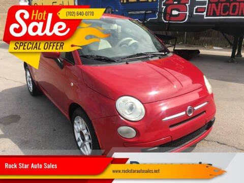 2012 FIAT 500 for sale at Rock Star Auto Sales in Las Vegas NV