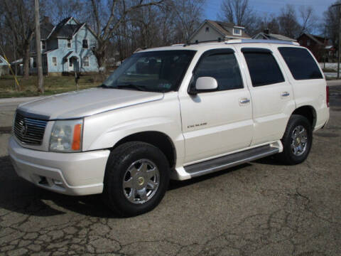 2003 Cadillac Escalade for sale at Taylors Auto Sales in Canton OH