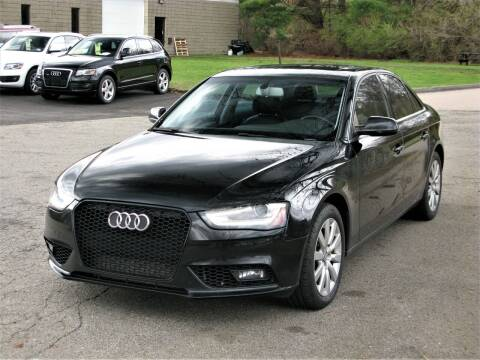 2013 Audi A4 for sale at The Car Vault in Holliston MA