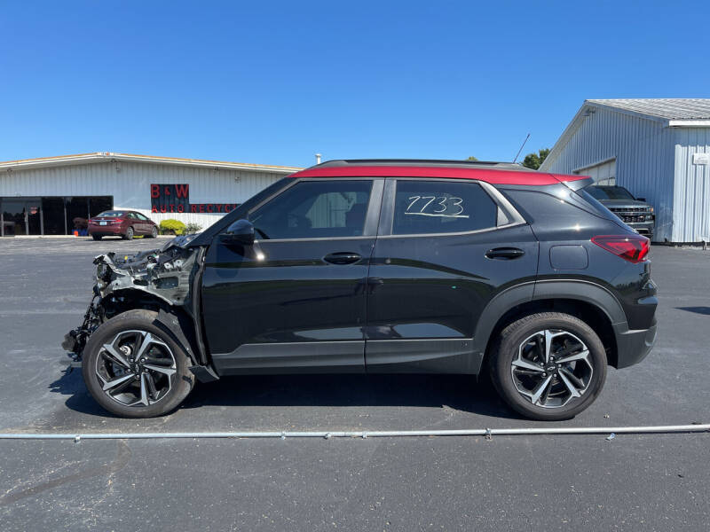 2021 Chevrolet TrailBlazer for sale at B & W Auto in Campbellsville KY