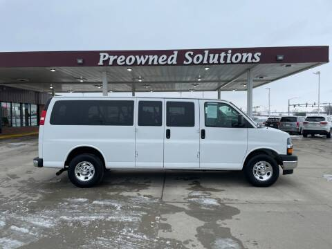 2017 Chevrolet Express Passenger for sale at Preowned Solutions in Urbandale IA