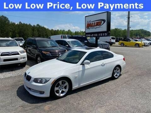2013 BMW 3 Series for sale at Billy Ballew Motorsports in Dawsonville GA