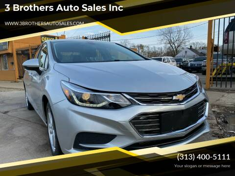 2016 Chevrolet Cruze for sale at 3 Brothers Auto Sales Inc in Detroit MI