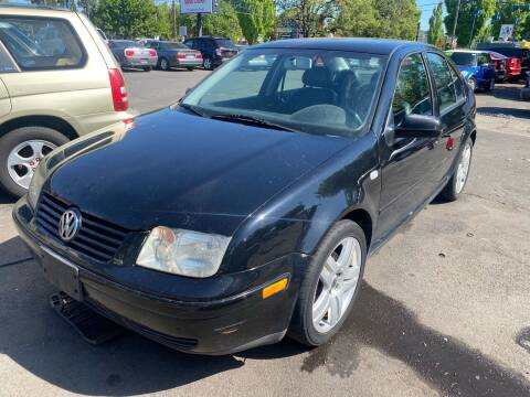 2003 Volkswagen Jetta for sale at Blue Line Auto Group in Portland OR