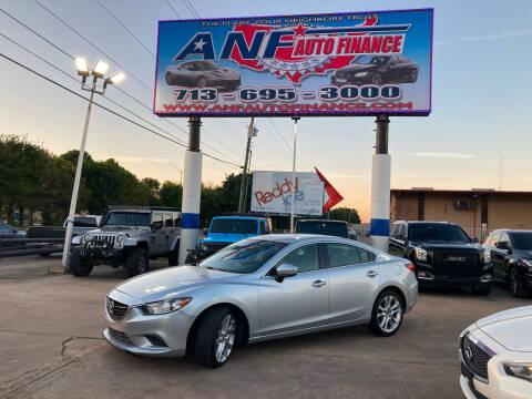 2017 Mazda MAZDA6 for sale at ANF AUTO FINANCE in Houston TX