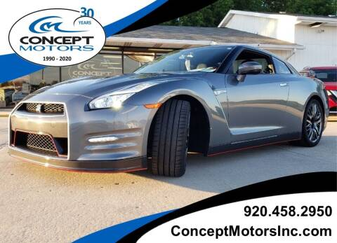 2016 Nissan GT-R for sale at CONCEPT MOTORS INC in Sheboygan WI