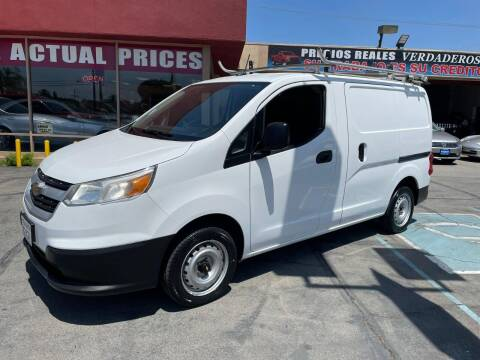2015 Chevrolet City Express Cargo for sale at Sanmiguel Motors in South Gate CA