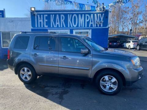 2010 Honda Pilot for sale at The Kar Kompany Inc. in Denver CO