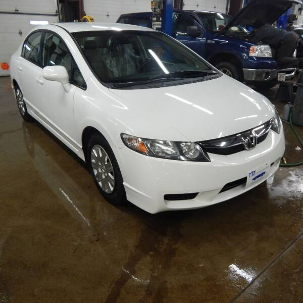 2010 Honda Civic for sale at TIM'S ALIGNMENT & AUTO SVC in Fond Du Lac WI