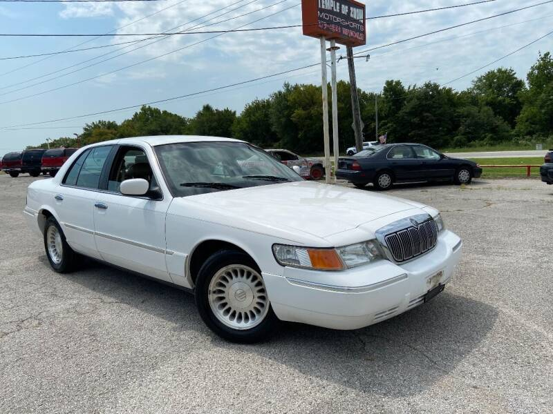 used 2001 mercury grand marquis for sale in morris ok carsforsale com cars for sale