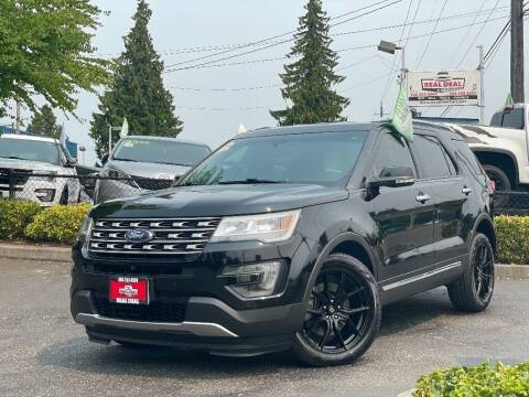 2016 Ford Explorer for sale at Real Deal Cars in Everett WA