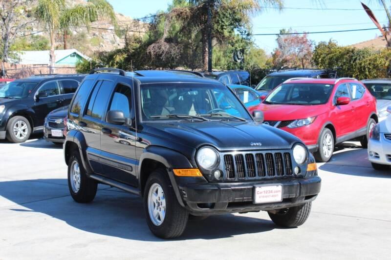 2007 Jeep Liberty for sale at Car 1234 inc in El Cajon CA