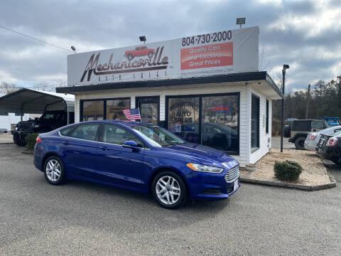 2016 Ford Fusion for sale at Mechanicsville Auto Sales in Mechanicsville VA