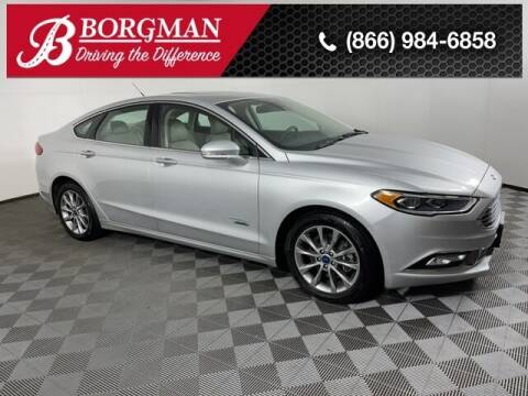 2017 Ford Fusion Energi for sale at BORGMAN OF HOLLAND LLC in Holland MI
