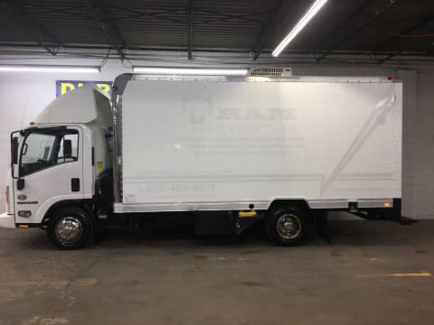 2011 Isuzu NPR BOX TRUCK 5.2 L DIESEL Ser for sale at DKR Trucks in Arlington TX