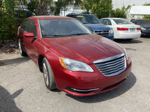 2013 Chrysler 200 for sale at Best Auto Deal N Drive in Hollywood FL