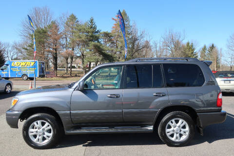 2004 Lexus LX 470 for sale at GEG Automotive in Gilbertsville PA