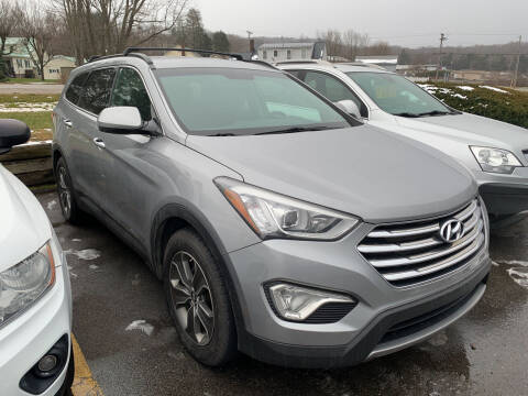 2013 Hyundai Santa Fe for sale at BURNWORTH AUTO INC in Windber PA