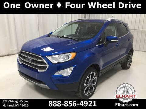 2018 Ford EcoSport for sale at Elhart Automotive Campus in Holland MI