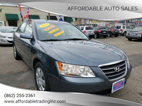 2010 Hyundai Sonata for sale at Affordable Auto Sales in Irvington NJ