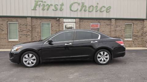 2010 Honda Accord for sale at First Choice Auto in Greenville SC