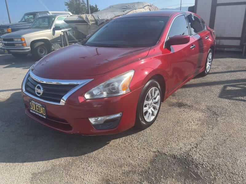 2015 Nissan Altima for sale at Soledad Auto Sales in Soledad CA
