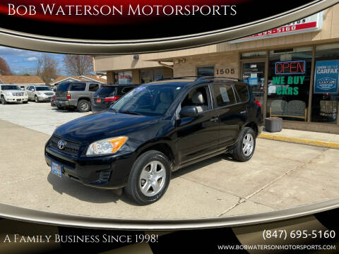 2010 Toyota RAV4 for sale at Bob Waterson Motorsports in South Elgin IL