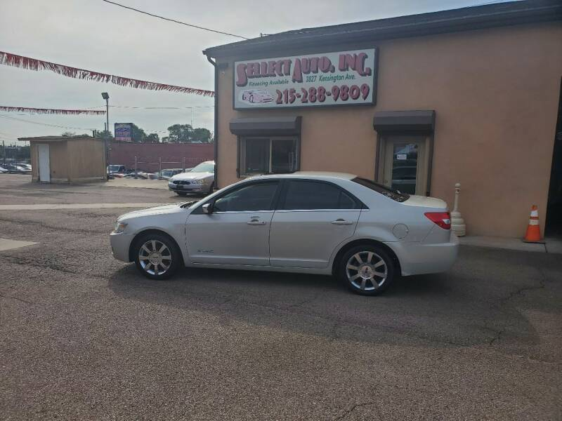 2006 Lincoln Zephyr for sale at SELLECT AUTO INC in Philadelphia PA