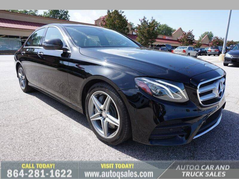 2017 Mercedes-Benz E-Class for sale at Auto Q Car and Truck Sales in Mauldin SC