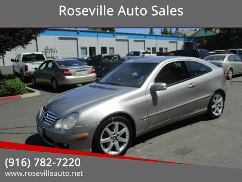 2005 Mercedes-Benz C-Class for sale at Roseville Auto Sales in Roseville CA