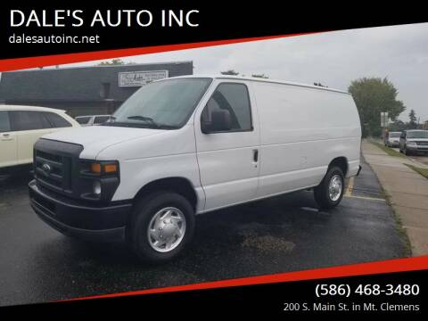 2012 Ford E-Series Cargo for sale at DALE'S AUTO INC in Mount Clemens MI