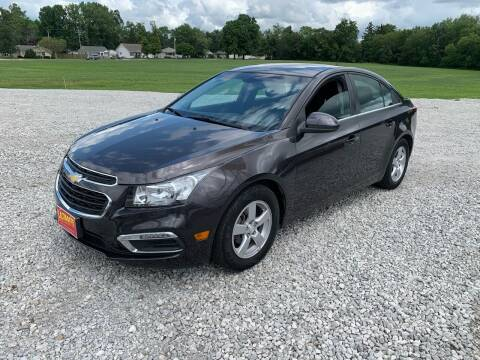 2015 Chevrolet Cruze for sale at Ultimate Auto Sales in Crown Point IN