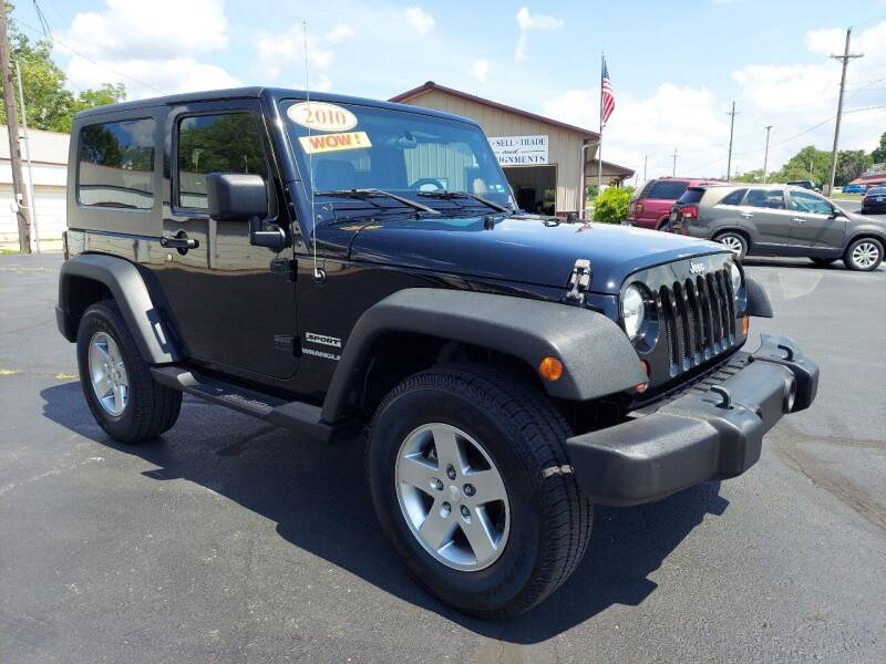 2010 Jeep Wrangler for sale at Holland's Auto Sales in Harrisonville MO