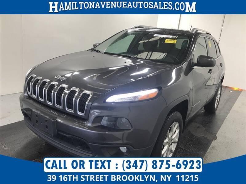 2014 Jeep Cherokee for sale at Hamilton Avenue Auto Sales in Brooklyn NY