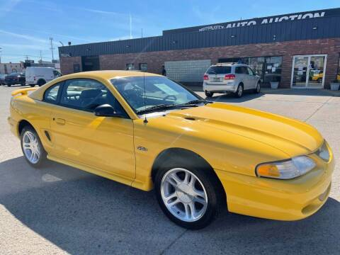 1998 Ford Mustang for sale at Motor City Auto Auction in Fraser MI