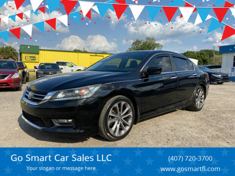 2015 Honda Accord for sale at Go Smart Car Sales LLC in Winter Garden FL