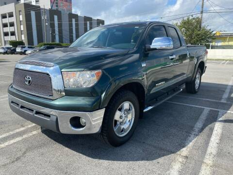 2007 Toyota Tundra for sale at MIAMI AUTO LIQUIDATORS in Miami FL