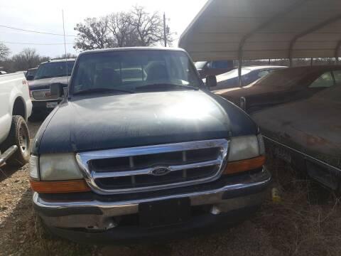 1998 Ford Ranger for sale at KK Motors Inc in Graham TX