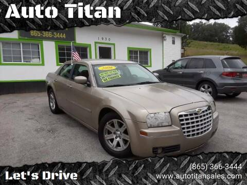 2006 Chrysler 300 for sale at Auto Titan in Knoxville TN