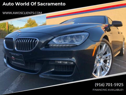 2013 BMW 6 Series for sale at Auto World of Sacramento Stockton Blvd in Sacramento CA