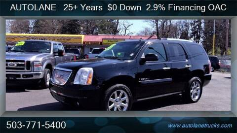 2008 GMC Yukon for sale at Auto Lane in Portland OR