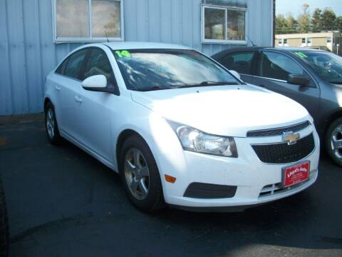 2014 Chevrolet Cruze for sale at Lloyds Auto Sales & SVC in Sanford ME