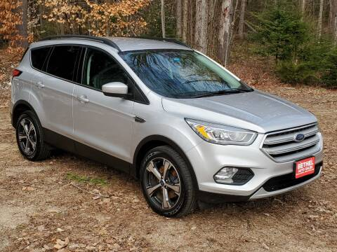 2018 Ford Escape for sale at Bethel Auto Sales in Bethel ME