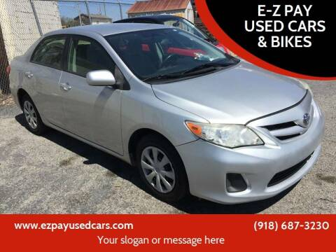 2011 Toyota Corolla for sale at E-Z Pay Used Cars - E-Z Pay Cars & Bikes in McAlester OK