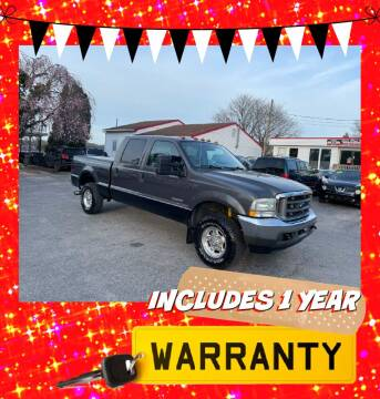 2004 Ford F-250 Super Duty for sale at LAUER BROTHERS AUTO SALES in Dover PA